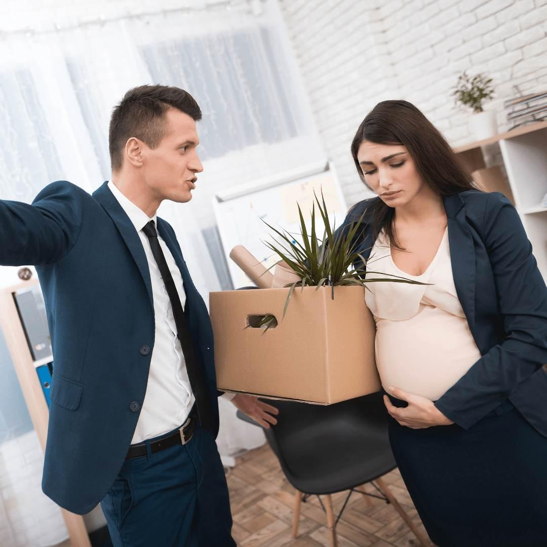 fui demitida e descobri que estou grávida
